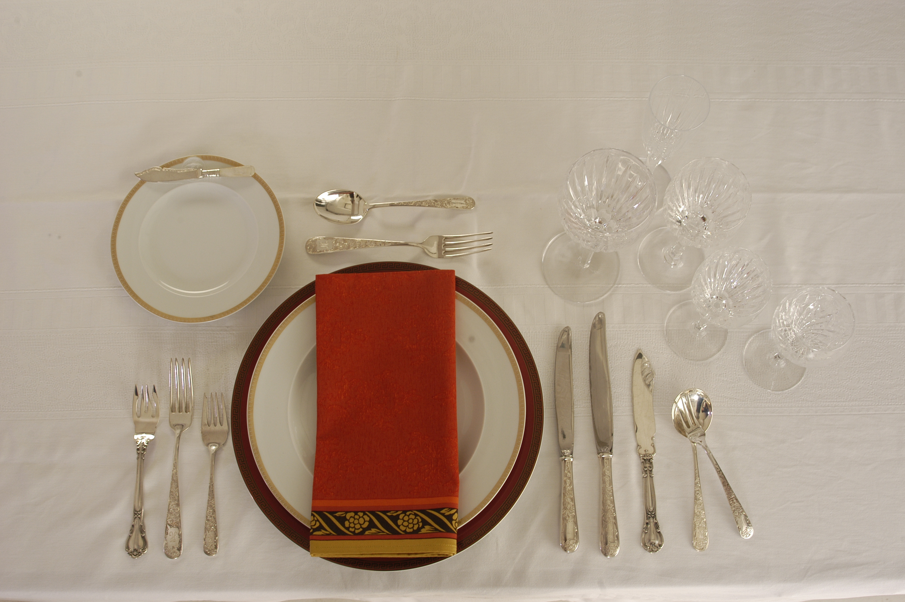 Formal Dinner Setting Etiquette Viewing Gallery